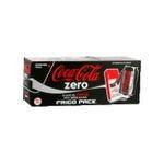 Coca-Cola -  cola zero soda gazeux cola light boite metal  sans extra  5449000137357