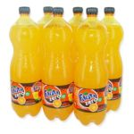 Fanta -  zero soft drinks gazeux bouteille plastique orange standard light pas de cafeine soda gazeux etagere  5449000138026
