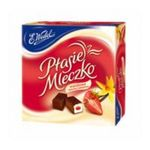 E.Wedel -  E Wedel   Ptasie Mleczko Chocolate Covered with Vanilla and Strawberry Jelly Marshmallow  5901588056203