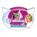 Whiskas - WHISKAS DENTS SAINES 50G |  les irresistibles nourriture pour chat pot plastique bouchee fourree croquette  5998749108635