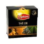 Lipton - THE OR ORIGINES COLLECTIO 20SACHETS LIPTON |  the or the noir sachets individuels dans boite carton 20 sachets kenya sachet pyramide the or  6281006702387