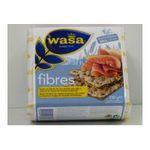 Wasa -   fibres panification seche sachet papier standard seigle fibre normal non fourre sel  7300400117869