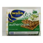 Wasa -   l'authentique panification seche boite carton standard froment normal non fourre sel  7300400118095