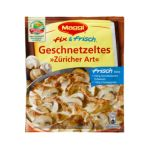 """Maggi - MAGGI fix & fresh strips """"Zuerich"""" (Geschnetzeltes """"Züricher Art"""") (Pack of 4) 7613030693987"""