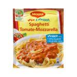 Maggi - MAGGI fix & fresh spaghetti tomato-mozzarella (Spaghetti Tomate-Mozzarella) (Pack of 4) 7613030711353