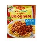 Maggi - MAGGI fix & fresh spaghetti bolognese (Spaghetti Bolognese) (Pack of 4) 7613030712213