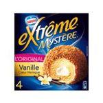Extrême - GERVAIS |  extreme glace individuelle boite carton vanille  4ct coeur de meringue type mystere/suspens praline meuble surgele  7613031326259