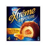 Extrême - GERVAIS |  extreme glace individuelle boite carton creme brulee  4ct coeur caramel type mystere/suspens caramel meuble surgele  7613031326563