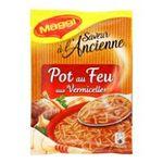 Maggi - SAC.POT AU FEU VERMICELLE MAGGI |  saveur a l'ancienne soupe a cuire sachet soupe de pot au feu quatre assiettes quatre assiettes par sachet  7613031483778