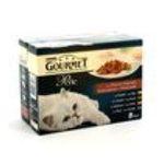 Gourmet -  PURINA |  gourmet perle nourriture pour chat pochon thon ou canard ou saumon ou poulet  12ct chat adulte bouchee en sauce  7613031634576