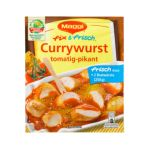 Maggi - MAGGI fix & fresh curried sausage (Currywurst) (Pack of 4) 7613031895755