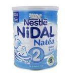 NAN - LAIT NIDAL NATEA 2 800G BOITE METAL |  natea 2 lait boite metal deuxieme age poudre standard  7613032506636