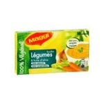 Maggi -  aide culinaire boite carton huile d'olive et legume standard 10 tablettes bouillon d'huile d'olive et legume cube ou tablette bouillon  7613032847449