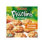 Maggi -  piccolinis original snack aperitif boite carton saucisse et fromage standard  9ct mini pizza  7613032988852