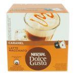 Nescafé -  dolce gusto latte macchiato cafe moulu en dosette arabica 8 dosettes cafe ou 8 dosettes lait 168. 7613033024191