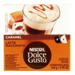 Nescafé - Dolce Gusto Caramel Latte Macchiato Coffee Capsules 1 box,16 capsule 7613033024290