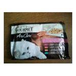 Gourmet -  PURINA |  gourmet a la carte nourriture pour chat pochon canard ou truite ou volaille ou sardine  4ct chat adulte bouchee en sauce  7613033080821
