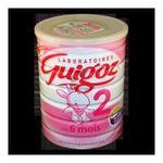Guigoz - GUIGOZ |  2 lait boite metal deuxieme age poudre standard  7613033111105