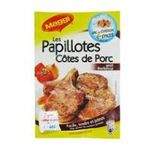 Maggi -  les papillotes melange sachet barbecue poudre melange pour porc  7613033132599