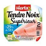 Herta - HERTA |  tendre noix jambon cuit porc qualite superieur decouenne degraisse 2 t standard  7613033634031