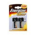 Energizer -  ENERGIZER |  ultra + pile rectangle blister 2ct9 volts non rechargeable 6 lr 61 alcalin  7638900211733