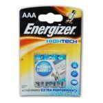 Energizer -  B.4 LR03 HIGHTECH ENERGIZ |  pile baton blister 4ct1,5 volt non rechargeable lr 03 alcalin  7638900328806
