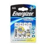 Energizer -  BLIST.4 PILES LR6 LITHIUM ADVANCE ENERGISER |  pile baton blister 4ct1,5 volt non rechargeable lr 6 lithium  7638900329094