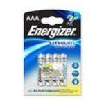 Energizer -  B.4 PILE LR3 LITHIUM ADVANCE ENERGIZER |  pile baton blister 4ct1,5 volt non rechargeable lr 03 lithium  7638900329100