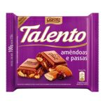 Garoto -  CHOC.AOLEITEC/AMENDOA TALENTO 7891008233001