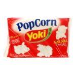 Yoki - PIPOCA P/MICRO YOKI NAT COM SAL 12X | POP CORN NATURAL C/SAL YOKI 10 7891095002207