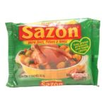 Ajinomoto brands -  SAZON PARA AVES/PEIXE E ARROZ 7891132019274
