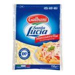 Galbani -  GALBANI    santa lucia fromage sachet plastique standard 45 pourcent m.g. rape mozzarella  8000430137866