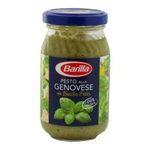Barilla - SAUCE PESTO ALLA GENOVESE 190G BARILLA |  sauce italienne pot verre basilic standard a rechauffer pesto genovese  8076809513753