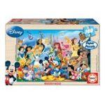 Educa Borras -  Puzzle 100 pièces Monde merveilleux de disney 8412668120020