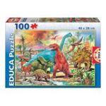 Educa Borras -  Puzzle100 pièces dinosaures 8412668131798