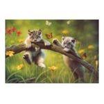 Educa Borras -  Puzzle 500 pièces petits lynx 8412668134133