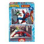 Educa Borras -  Puzzle 2x48 pièces Spiderman 8412668136700