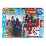 Educa Borras -  Puzzle 2x100 pièces Spiderman 8412668136724