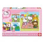 Educa Borras -  Puzzle progressif hello kitty 8412668142183