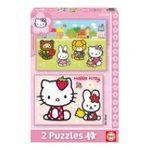 Educa Borras -  Puzzle 2x20 pièces Hello kitty 8412668142190