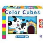 Educa Borras -  Puzzle Cubes 6x6 à la ferme 8412668145757
