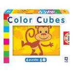 Educa Borras -  Puzzle Cubes 6x6 la forêt 8412668145764
