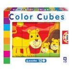 Educa Borras -  Cubes 6x12 mamans et bébés 8412668145788