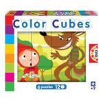 Educa Borras -  Puzzle cubes 6x12 contes classiques 8412668145795