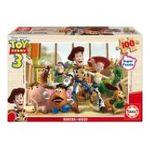 Educa Borras -  Puzzle100 pièces Toy story 3 bois 8412668146327