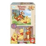 Educa Borras -  Puzzle 2 x 9 pièces Winnie 8412668149557