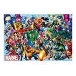 Educa Borras -  Puzzle 1000 pièces Marvel collage des héros 8412668151932