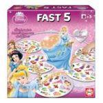 Educa Borras -  Fast 5 Disney princesses 8412668152458