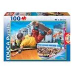 Educa Borras -  Puzzle 100 pièces Skateboard 8412668152670