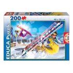 Educa Borras -  Puzzle 200 pièces snowboard 8412668152687